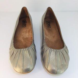 ABEO Silver Flats Size 9
